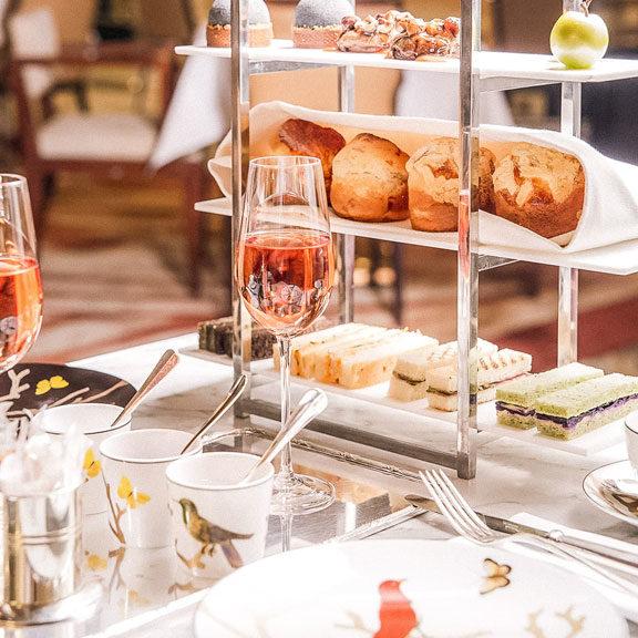 melhores casas de chá de Paris