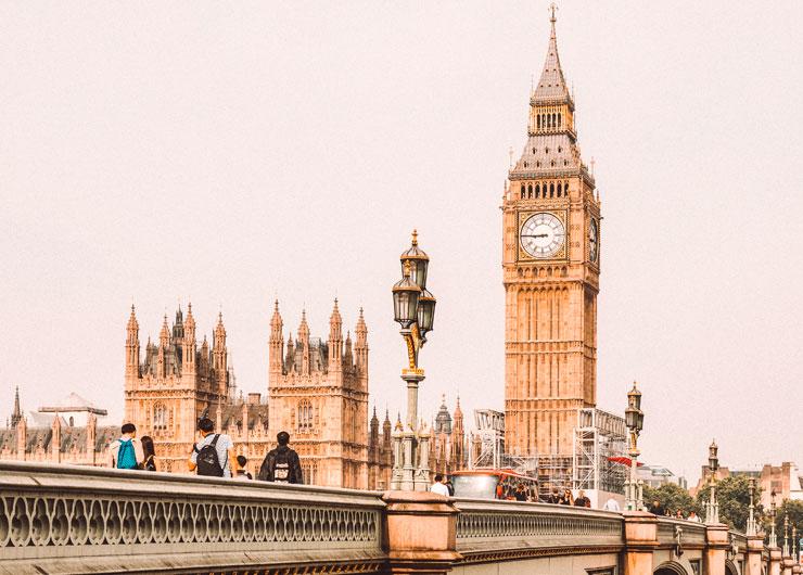 cidade de Londres na Inglaterra