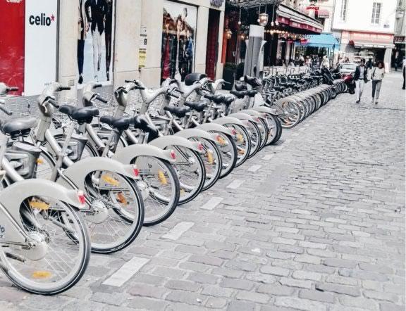 transporte-em-paris-bicicletas