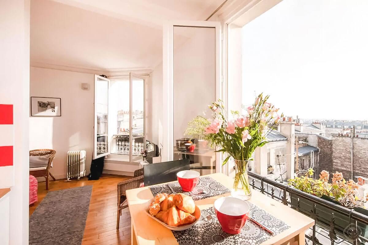 Airbnb Paris: Superlista com opções a partir de 34€ por noite
