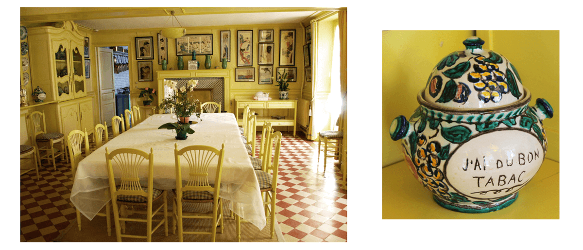 giverny-maison-monet-sala-jantar