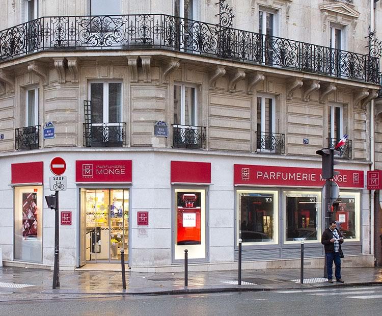 perfumaria monge em Paris